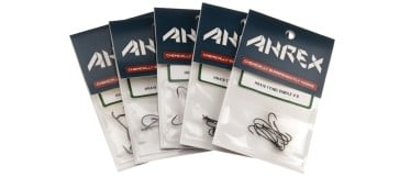 AHREX HR410 Salmon Single Fly Tying Hooks