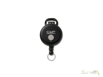 C&F Design Flex Pin-on Reel - Black CFA-72