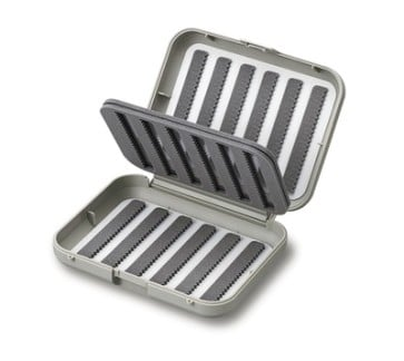 C&F Small 12-Row Midge Fly Case w Two-Sided F.Page