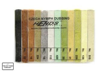 Czech Nymph Dubbing Box Natural Colours