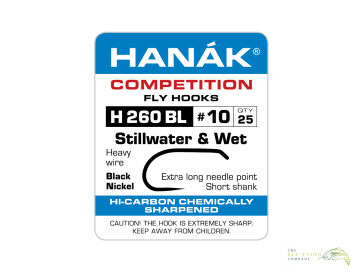 Hanak H260BL Stillwater & Wet Fly Hooks