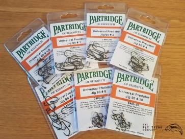 Partridge CS86 Universal Predator Jig 90 Hooks