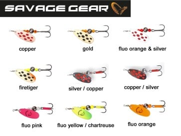 Savage Gear Caviar Spinners
