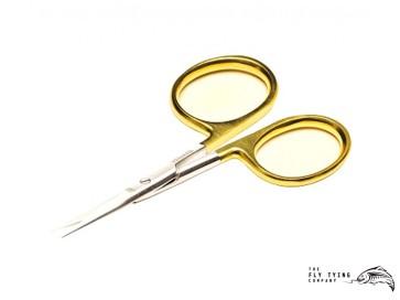"Gold Loop 4"" Micro Tip Scissor"