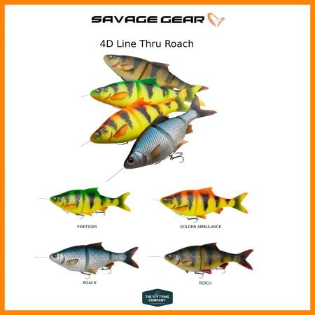 Savage Gear 4D Line Thru Roach