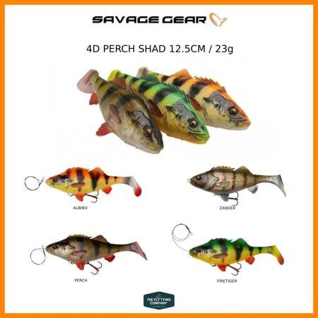 Savage Gear 4D Perch Shad