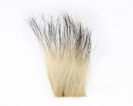 Sybai Natural Badger Fur