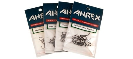 AHREX HR431 Barbless Tube Single Hooks