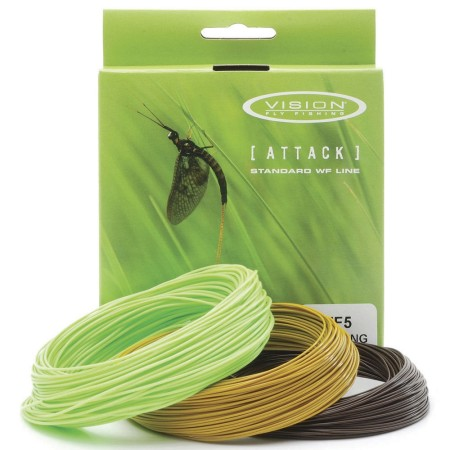 Vision Attack Fly Lines