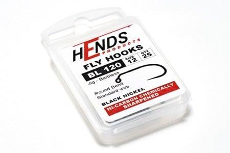 Hends Barbless Jig Hooks