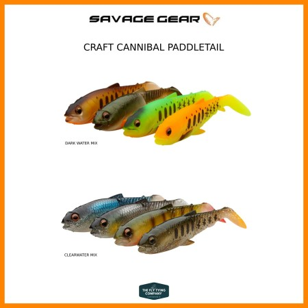 Savage Gear Craft Cannibal Paddle tail