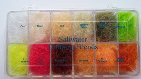 Wapsi Saltwater Dubbing Blends Box