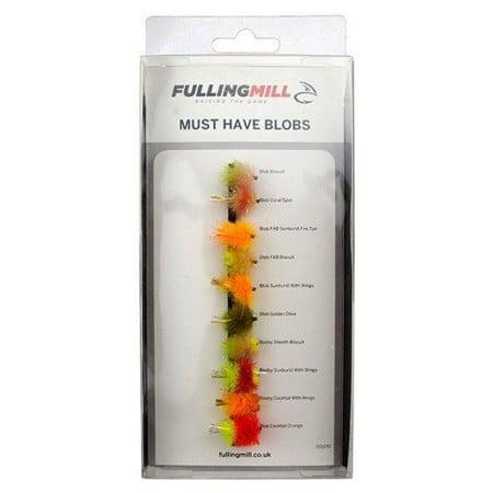 Fulling Mill Must Have Blobs 10 Flies