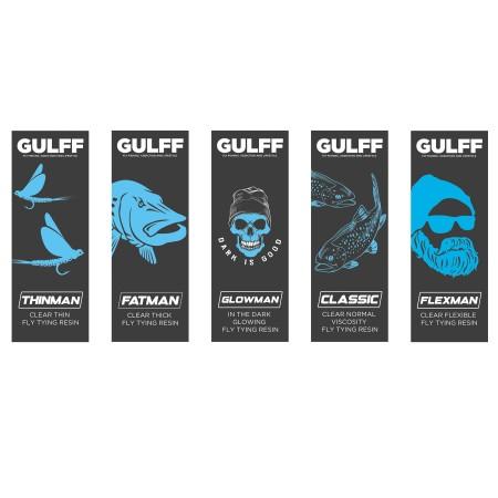 GULFF Clear Resins