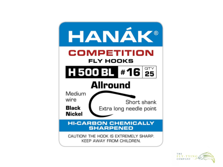 Hanak H500BL Allround Fly Hooks