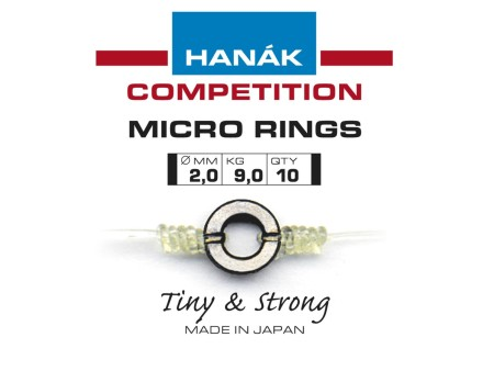 Hanak Competition Tippet Micro Rings - 2mm