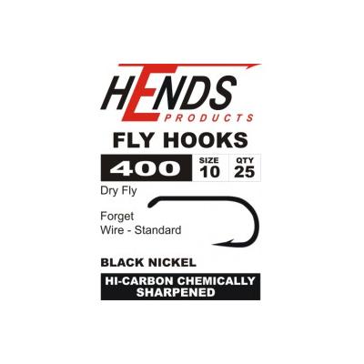 Hends 400 Dry Fly Hooks