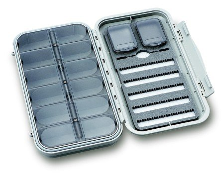 C&F Large 5-Row Dry & Nymph WP Fly Case w 12 Compartments