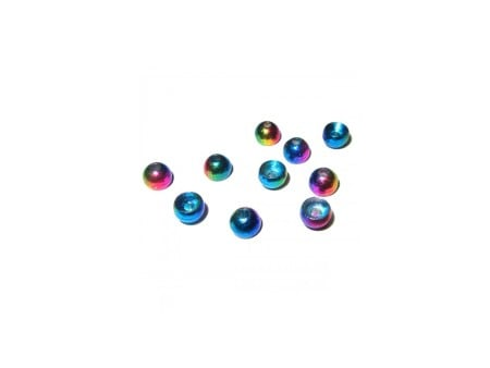 Rainbow Tungsten Beads
