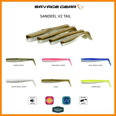 Savage Gear Sandeel V2 Tail - 5pcs