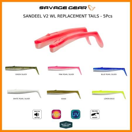 Sandeel V2 Weedless Tails