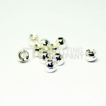 Silver Tungsten Fly Tying Beads