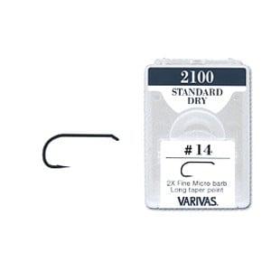 Varivas 2100 Standard Dry Fly Hook