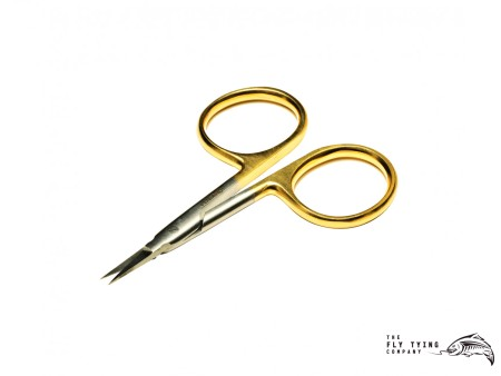 "Veniard Gold Loop 3.5"" Arrow Point Scissors"