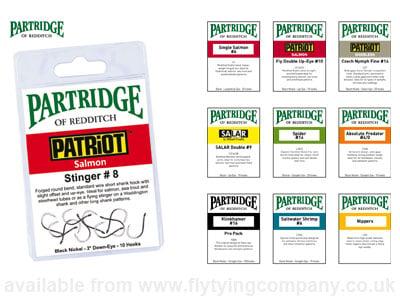Partridge of Redditch CS10//2 Bartleet Supreme Fly Hook